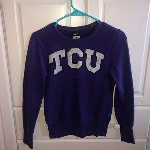 TCU Nike Sweatshirt